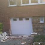 Remplacement porte de garage