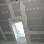 rénovation grenier faux plafond gyproc